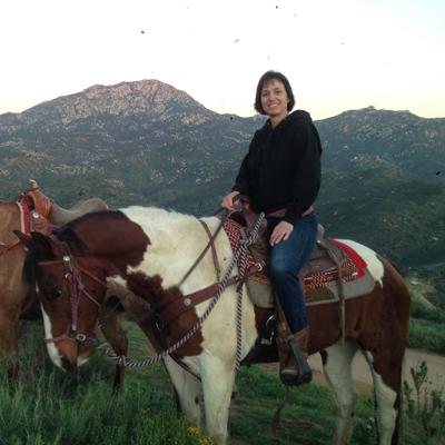 Carolyn Riding Horse